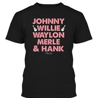 Country Music Icons - Men Tee