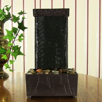 Lighted Stream Tabletop Fountain w/ LED Lights