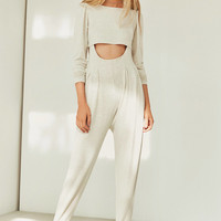 Silence + Noise Dalia Two-Piece Jumpsuit Set | Urban Outfitters