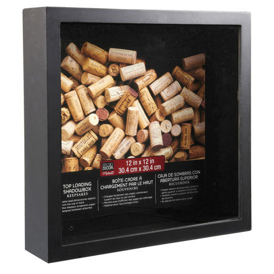Studio D 233 Cor 174 Top Loading Shadowbox From Michaels For