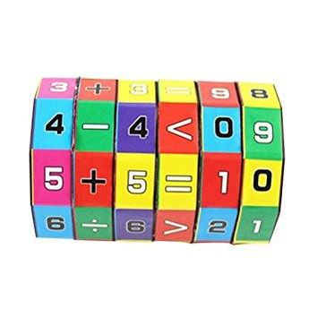 Children's Educational Toys Mathematics Numbers Magic Cube Puzzle Game Gift for Kids