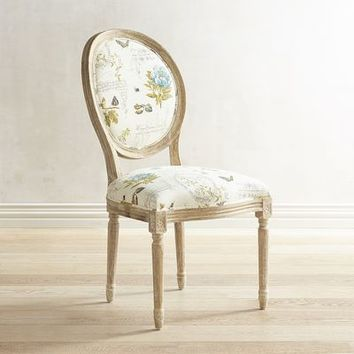 Eliane Green Botany Dining Chair