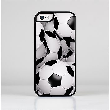 The Soccer Ball Overlay Skin-Sert for the Apple iPhone 5c Skin-Sert Case