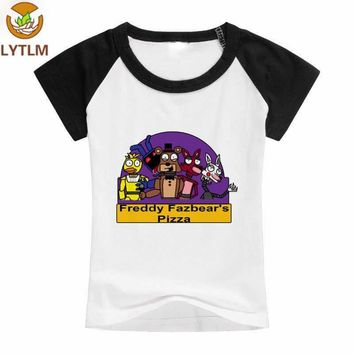 LYTLM Toddler Girl Tops  At  Baby Clothes Girl  Freddy T Shirt Kids Tiny Cottons School Shirts for Boys