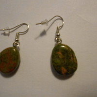 Unakite Jasper Earrings