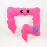 Colon plushie / kawaii comfort pillow