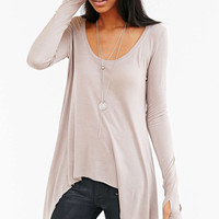 Long Sleeve Asymmetrical Shirt