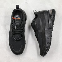 "Nike Air Max 270 ""Triple Black"" React AQ9087 005"