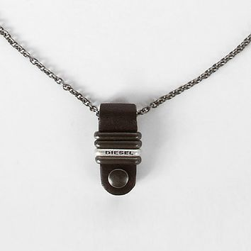 Diesel Drop Necklace