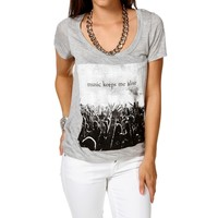 Sale-music Keeps Me Alive T-shirt
