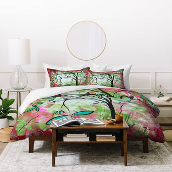 Madart Inc. Through The Looking Glass Duvet Cover