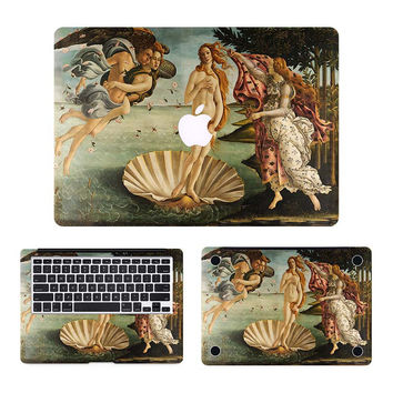 """The Birth of Venus Full Body Cover Skin Laptop Sticker for Apple MacBook Air Pro Retina 11"""" 12"""" 13"""" 15"""" Computer Notebook Decal"""