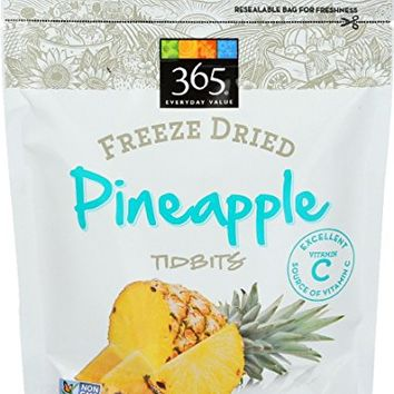365 Everyday Value, Freeze Dried Pineapple Tidbits, 1 oz