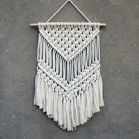 Macrame wall hanging Medium size wall decor