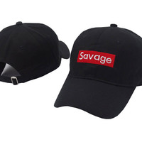 Savage Baseball Cap Embroidery Men Dad Hat