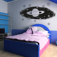 Vinyl Wall Decal Sticker Saturn #OS_AA807