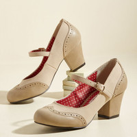 Treat Your Feet Heel | Mod Retro Vintage Heels | ModCloth.com