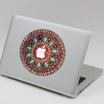 Flower - macbook decal mac pro decals macbook keyboard decal cover skin macbook decals sticker Laptop mac decal sticker