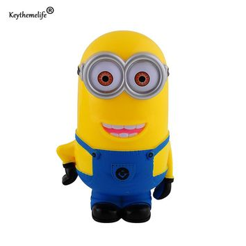 3 Pcs/Pack Coin Bank 3D Money Box Minions Cartoon Figures Piggy Bank Saving Coin Cent for Children Girl Boy Baby Toy F