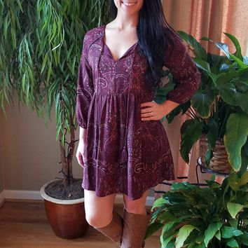 A Little Boho Just for You Dress