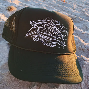 Leatherback Sea Turtle Trucker Hat
