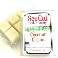 wax melt - Coconut Creme - soy wax melt - wax melt warmer - organic wax melt