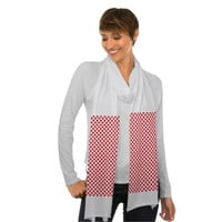 Red White Polka Dots - Scarf