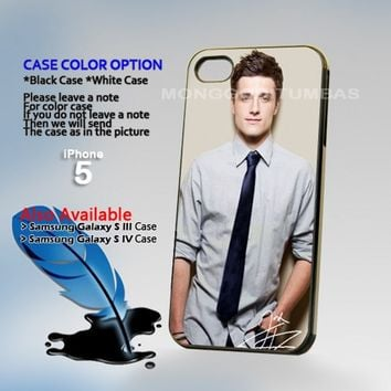 Joshua Hutcherson, Photo Hard Plastic iPhone 5 Case Cover