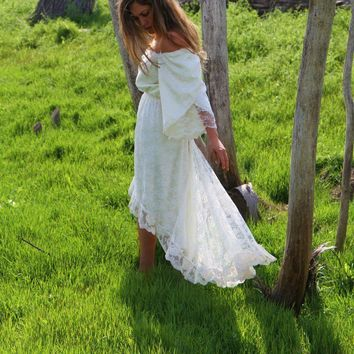 Josephine Vintage Bridal Gown by DaughtersOfSimone on Etsy