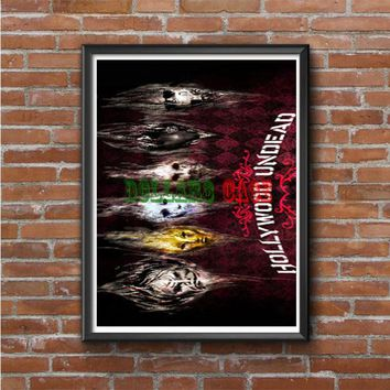 Hollywood Undead Band Photo Poster