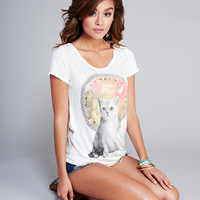 Celestial Kitty Tee | Wet Seal