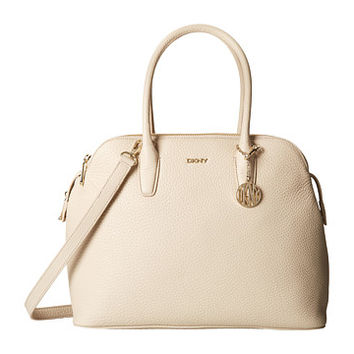 DKNY Tribeca - Soft Tumbled Triple Zip Satchel w/ Det Shoulder Strap