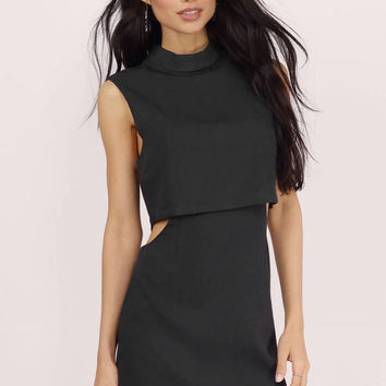Jina Cut Out Tier Dress