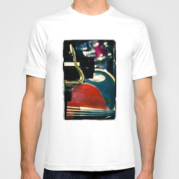 Jazz Quartet T-shirt by Cinema4design