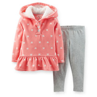 2-Piece Microfleece Top & Legging Set