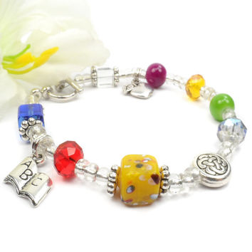 Teachers Poem Bracelet- Christmas Gift for Teacher
