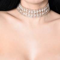 Baby I'm Yours Choker - Gold