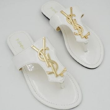 Ysl Casual Fashion Women Sandal Slipper Shoes-2
