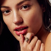 Free People 10k Love Knot Serpent Ring