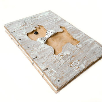 Dog Wood book-Pets Wooden Life Photo Album-Personalized Book-dog scrapbook-dog lover-dogs-animal-dog gift-My favourite puppy-Eco Friendly