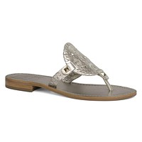Georgica Sandal in Platinum by Jack Rogers - FINAL SALE