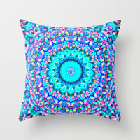 ARABESQUE Throw Pillow by Monika Strigel | Society6