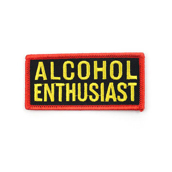 Alcohol Enthusiast Patch