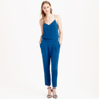 COLLECTION SILK CREPE DE CHINE JUMPSUIT