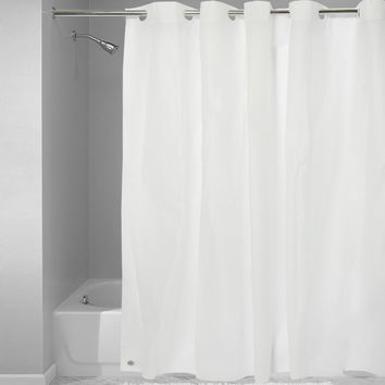 Easy On Shower Curtain/Liner with Built in Hooks | Overstock.com Shopping - The Best Deals on Shower Curtains