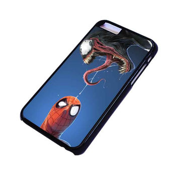 VENOM VS SPIDERMAN VILLAIN iPhone 4/4S 5/5S 5C 6 6S Plus Case Cover