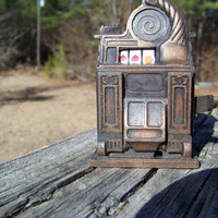 Vintage Pencil Sharpener--Slot Machine--Made in Hong Kong--