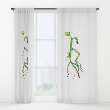 Pickett Bowtruckle Window Curtains by MonnPrint