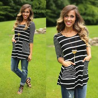 Stripes All Day Tunic