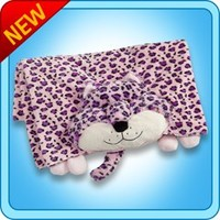 Blankets :: LuLu Leopard Blanket - My Pillow Pets® | The Official Home of Pillow Pets®